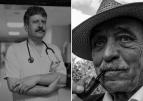 """""""Zasłużony dla Miasta Konina""""  – dr Grzegorz Jankowski i Szymon Pawlicki."""