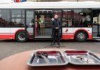 Autobus elektryczny wyjechał na ulice Konina.